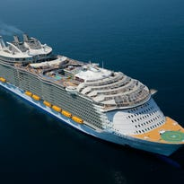 Royal Caribbean shows off features on Symphony of the Seas, world's largest cruise ship