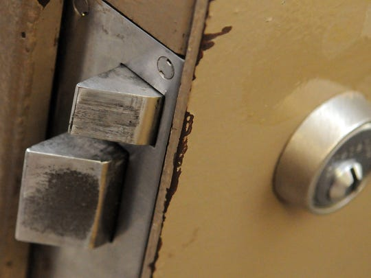 The locks in the Ross County Jail, shown in this 2015 file photo, are among the items set to be replaced in the $5.2 million renovation project.