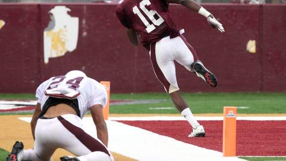 ULM plays its first scrimmage of fall camp Saturday.