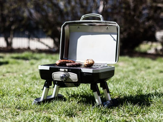 Portable grills are just one of the outdoor items on sale today.