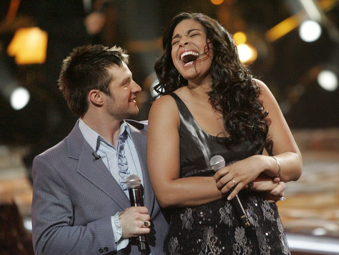 Oh, they were so cute together! Jordin Sparks and Blake