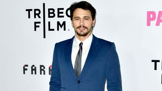 James Franco at the Tribeca Flim Fest premiere of 'Palo Alto'.
