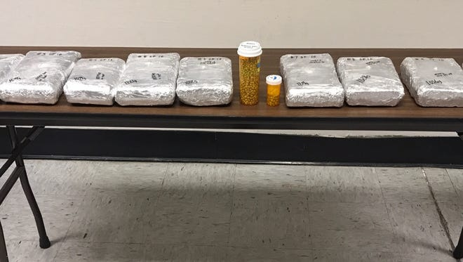 More than 11 kilograms of cocaine were seized.