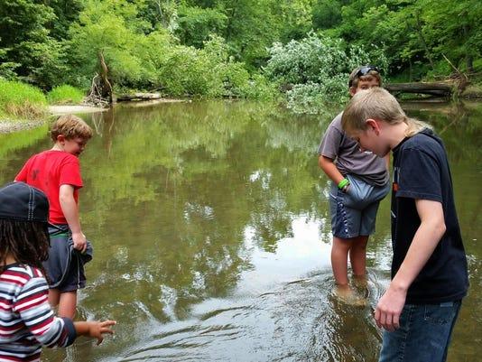 KidsinRivercamp prairie creek