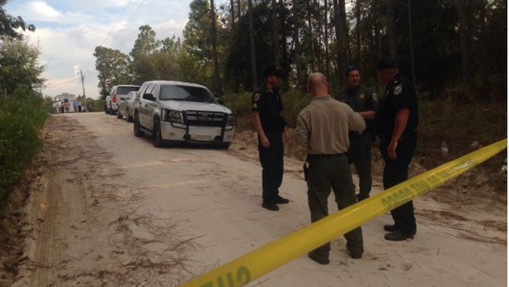Gilchrist County deputies investigating a shooting in Bell.