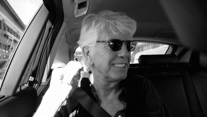 """Graham Nash performs """"an intimate evening of songs and stories"""" at the Wellmont Theater in Montclair on Friday."""