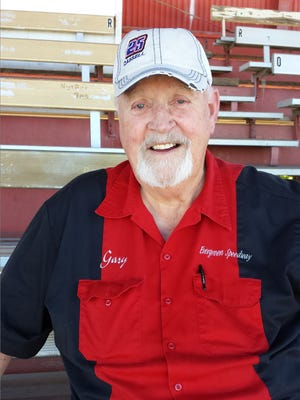 Gary Cressey promoted races at Shasta Speedway for more than 20 years. He also was the voice of the speedway. He died Wednesday at the age of 80.