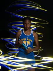 Derica Gibson of John Carroll High School, all-area