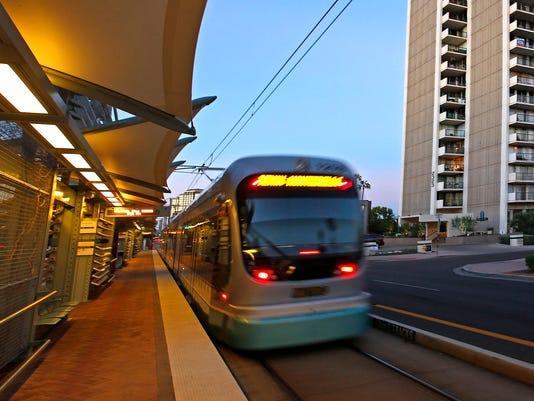 light-rail train