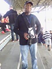 Tom Davis, of Staunton, in the grandstands at the Italian