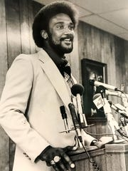 Jim Rice, photographed in 1978, a Major League Baseball Hall of Famer who played with the Boston Red Sox, Is one of the more famous to come from Anderson.