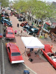 OC Cruzers Car Show held on Somerset Street Plaza in