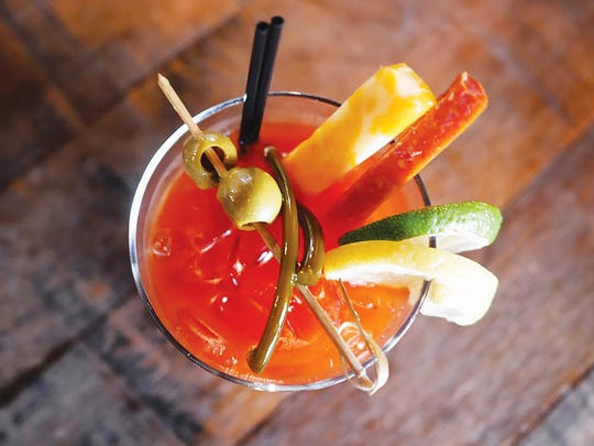 Bloody Mary from Black Button Distilling.