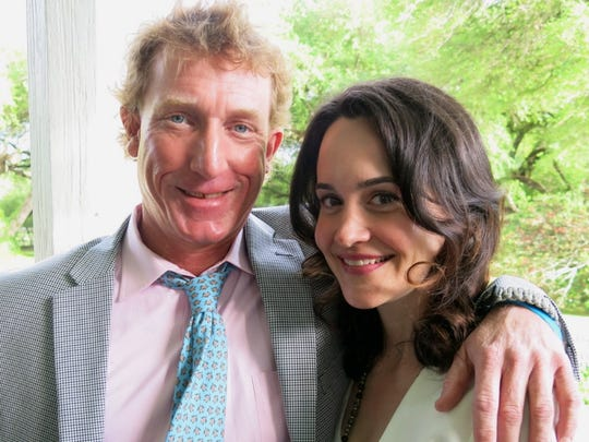 Peter Tattersall and fiancee Sarah  Cooper at Cherokee