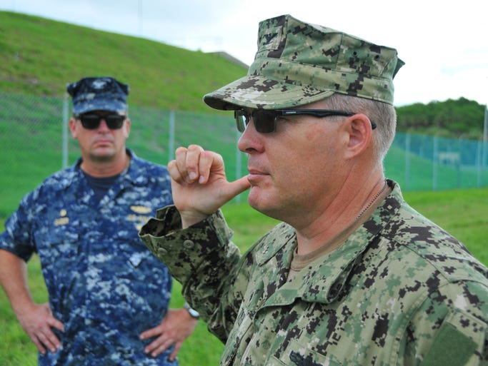 Captain Arnie Tyler, Commander, Coastal Riverine Squadron, talks about the  weeks of training