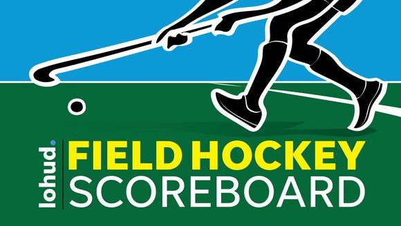 Field hockey scoreboard September 27, 2017