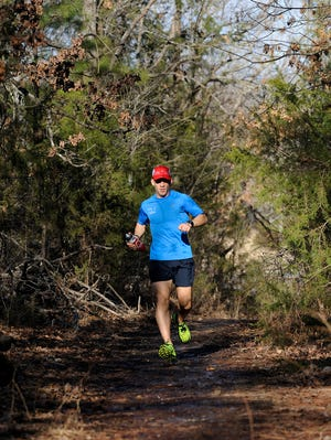 In a 50-mile training run, Jake Anderson completed half of the recent Mark Twain 100 in 8 hours, 54 minutes and 41 seconds.