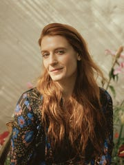 """""""High as Hope"""" is Florence Welch's first album she's made since she decided to quit drinking a few years ago, and it provides her with her first producer credit."""