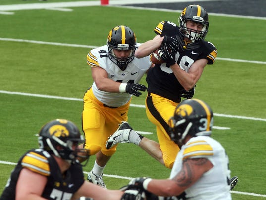 IOW 0425 iowa fb spring game 15