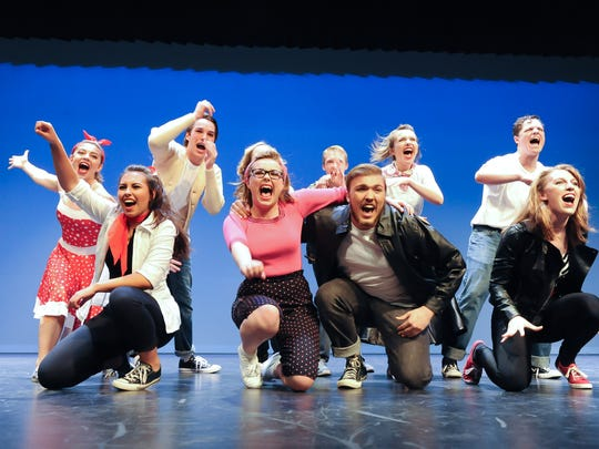 Students from York County high schools perform a finale number during the Encore Awards in 2016. The event brings more than 500 student actors, dancers, musicians and backstage workers to one stage to perform musical selections from their spring productions.
