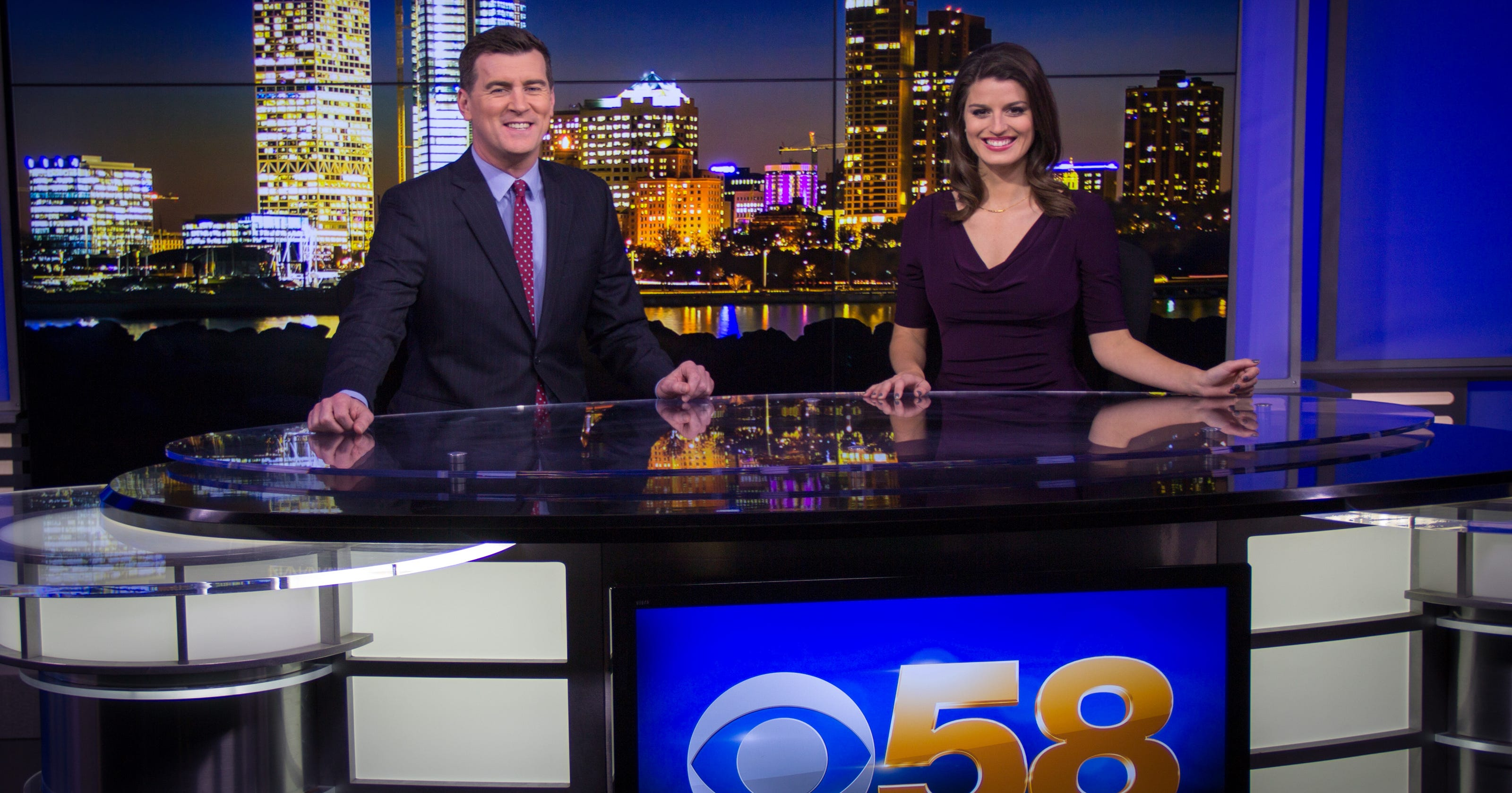 Channel 58 anchor Kate Chappell, Channel 12's Ben Hutchison leaving