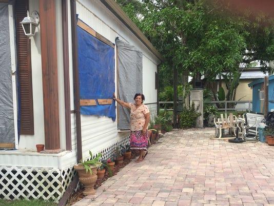 Hurricane Irma: Trailer Park