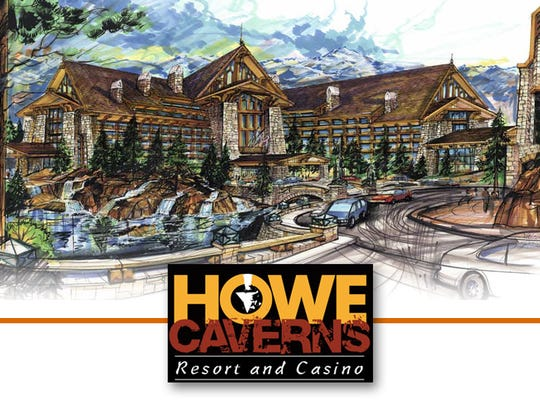 An artist's rendering of Howe Caverns Resort & Casino, a $450 million project for a resort in Schoharie County.