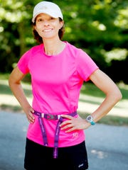 Joanne Moss is gearing up to compete in a marathon in Hawaii, the 50th state on her list of places she has competed.