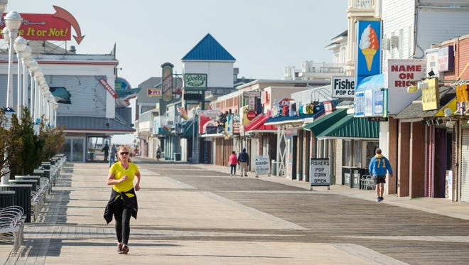 Ocean City officials are investigating a fatal fall from a balcony.