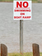 Lake Iowa Park reopened, Monday morning after a man's body was recovered during the weekend.