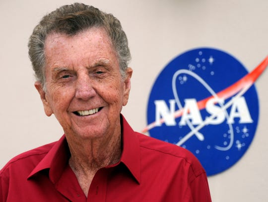 Jay Barbree, longtime NBC space reporter.