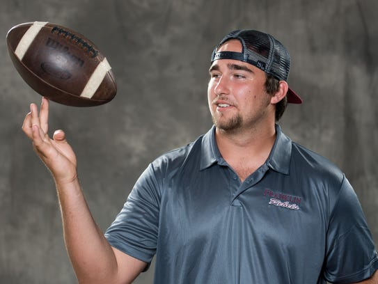 Franklin offensive lineman Max Wray