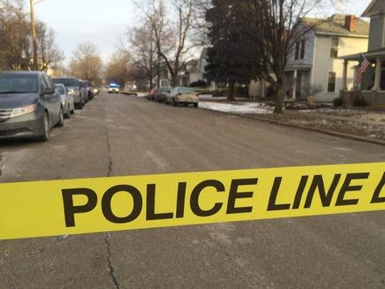 Hickory Street is closed as Detectives investigate