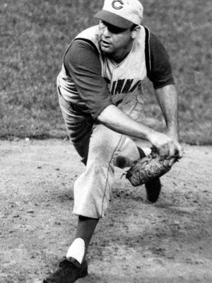 The Reds' Bob Purkey in 1962.