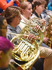 St. Cloud State University concert band and ensemble