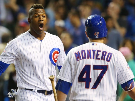 USP MLB: MILWAUKEE BREWERS AT CHICAGO CUBS S [BBA OR BBN] USA IL