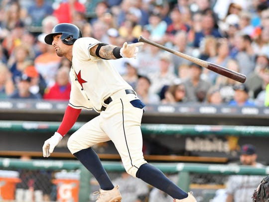 Nick Castellanos, who is experimenting with a move