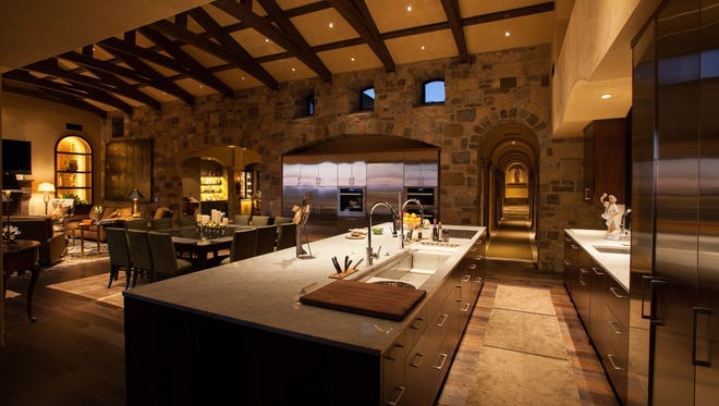 Randy R. Arnett-Romero, president of R-NET Custom Homes in Scottsdale, is always looking for ways to create one-of-a-kind architectural features.