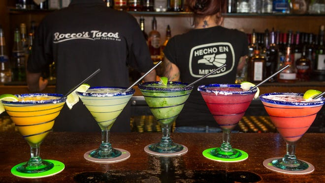Rocco's Tacos has late-night specials for National Margarita Day.