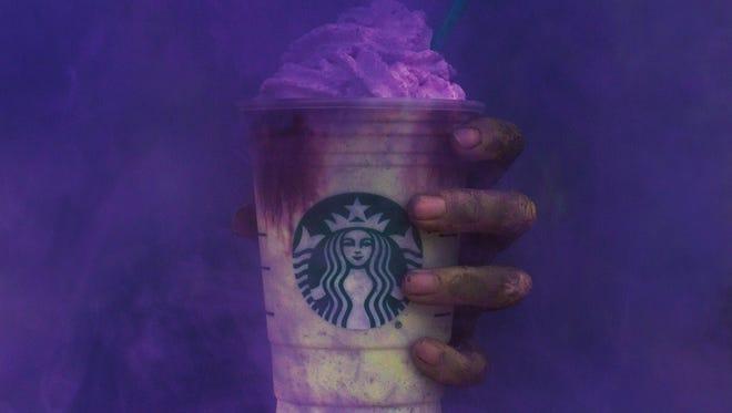 Starbucks' Zombie Frappuccino