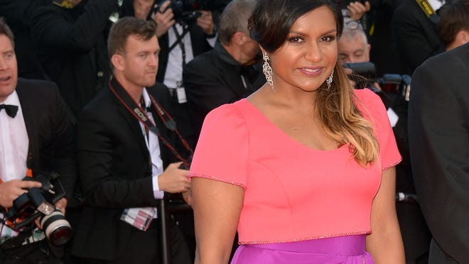 Mindy killed it at Cannes. (Dominique Charriau/WireImage)