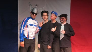 The non sequiturs of 'The Bicycle Men' hit payday at Rochester Fringe