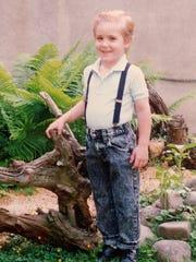 Derrick Robie, 4, of Savona, Steuben County.