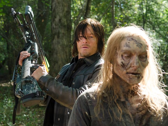 "High-concept, post-apocalyptic ""The Walking Dead,"""