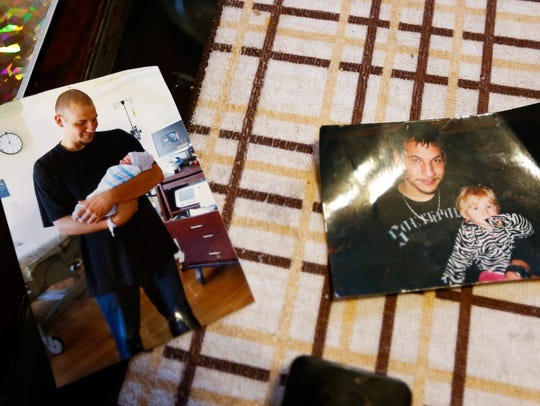 Photos of Cory Bruce, who died on Nov. 25 after five