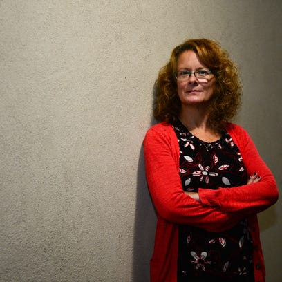 Heidi McNeeley poses for a photo Wednesday, Oct. 6,