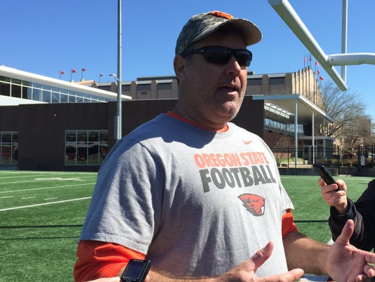 New Memphis linebackers coach Kevin Clune was previously defensive coordinator at Oregon State from 2016-17