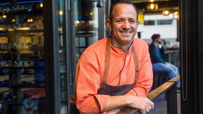 James Beard Award-winning chef Alex Stratta plans to open a Blue Zone, a quick-service restaurant serving health-conscious options.