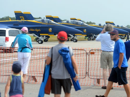 The 2018 Vero Beach Air Show wrapped up performances