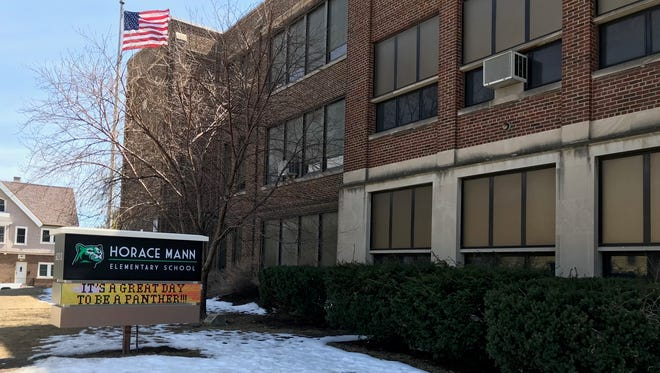 At Horace Mann Elementary School, 6213 W. Lapham St., West Allis, a 10-year-old student out of control trashed two rooms.